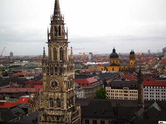atop st. peter's spire 2. munich